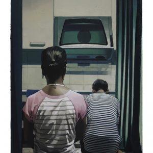 """Break"", 2020, Oil on canvas, 150 x 100 cm"