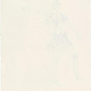 Eneade 1, 2019, Colour pencil on paper, 38 x 32 cm