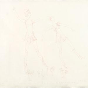 Camille Livre VII, 2019, Colour pencil on paper, 53 x 62 cm