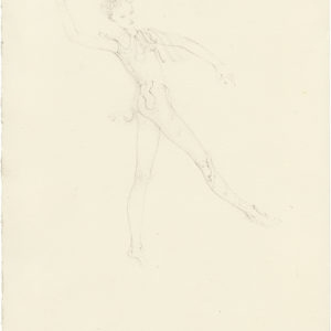 Cupidon (Amphisbene) 2019, Pencil on paper, 29,5 x 21 cm