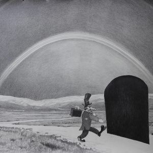 Untitled, 2014, Pencil on paper, 70 x 92 cm