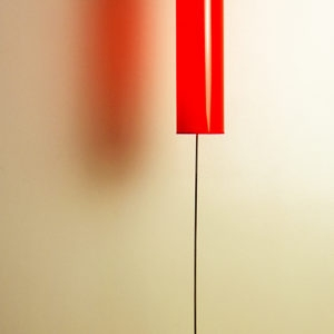 Claus Thoman-Lampe, 2002, Metal, plastic, electric cables, cardboard, Ed. 26/100
