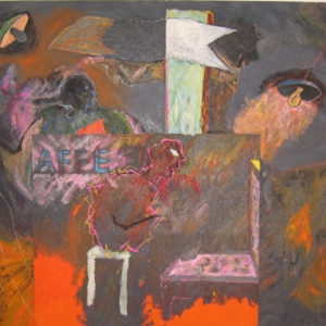 Bingo, 1983, Oil on canvas, Overall: 250 x 300 cm
