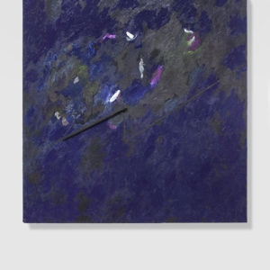 Untitled, 1979, Tempera and lacquered stick on plywood, 165 x 160 cm