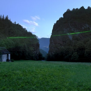 En Plein Air 7, 2011-2012, Print on Canson fiber paper , aluminum, etched glass Ed.3 + 2 AP 60 x 80 cm, overall 60,5 x 81 cm © Mario Airò