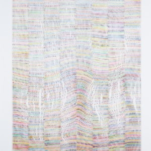 Untitled, 2013, Acrylic on glass Unframed: 150 x 110 cm Framed: 156 x 116 cm
