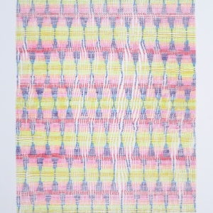 Untitled, 2013, Acrylic on glass Unframed: 110 x 90 cm Framed: 115 x 100 cm