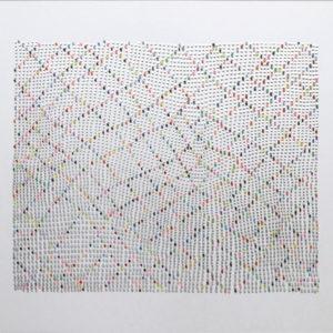 Untitled, 2013, Acrylic on glass 30 x 35 cm (unframed)