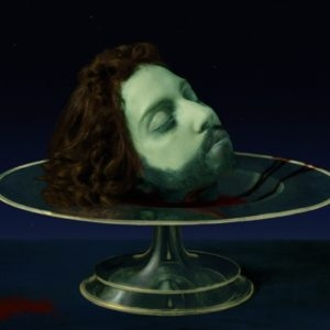 "Lady Gaga: The Head of Saint John the Baptist (Dauphin Delphinus), 2013, High Definition Video, 20"" LCD Monitor/digital player/speaker Ed. of 2 AP 2"