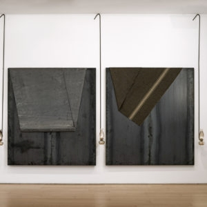 Untitled, 1994, Mixed media 2 x (200 x 180 x 30 cm)- DImensions variable
