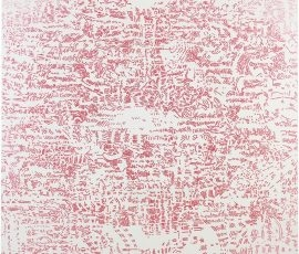 "LIANG WEI, ""Beginning or Ending"", 2012, Acrylic on canvas 180 x 180 cm"
