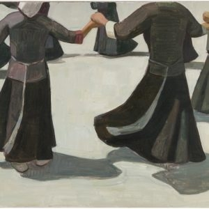 """""""Untitled"""", 2013, Oil on canvas 100 x 210 cm"""