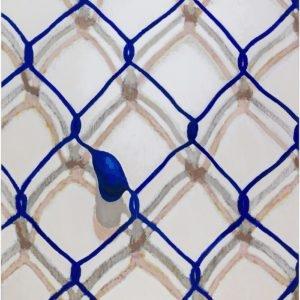 """Net"", 2013, Acrylic on canvas 150 x 120 cm"