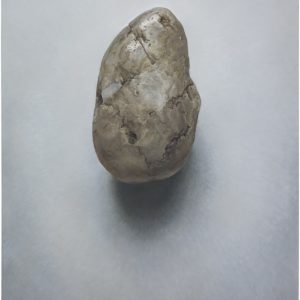 """Pebble no 11"", 2010, Oil on canvas 100 x 80 cm"