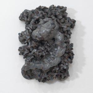 """""""Undine"""", 2014, Glazed ceramic 51 x 37 x 18 cm"""