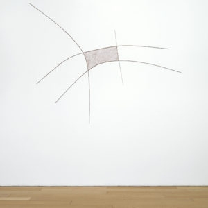 Untitled, 1970's, copper wire, copper, brass overall: 230 x 200