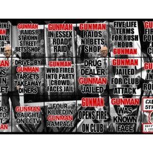 Gunman Straight, 2011, 226 x 381 cm