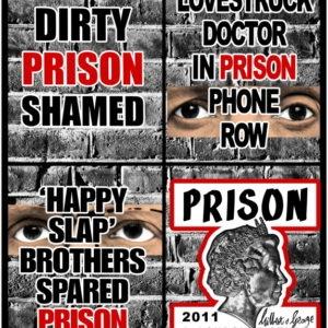 Prison, 2011, 151 x 127 cm