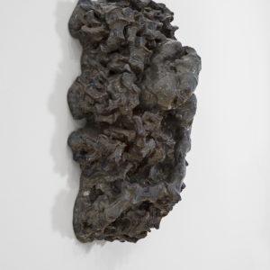 """detail from """"Undine"""", 2014, Glazed ceramic 51 x 37 x 18 cm"""