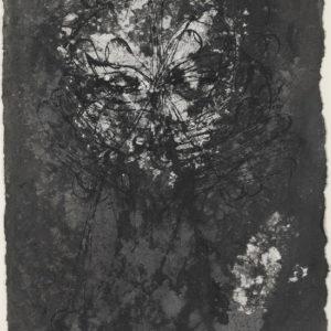 """""""Backbone Roll"""", 2009, Ink on paper 31 x 45 cm"""