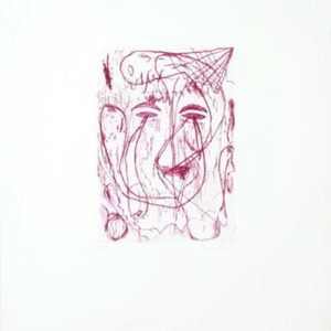 Untitled, 2001, Etching ed. 6/16 65 x 49 cm