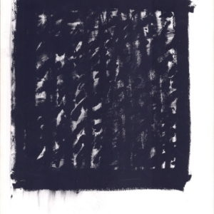Untitled (III), 1996, Oilstick on paper  100 x 70 cm