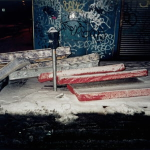 """Seven Mattresses"", 1997, Unique photograph on aluminium 59,5 x 89 cm"