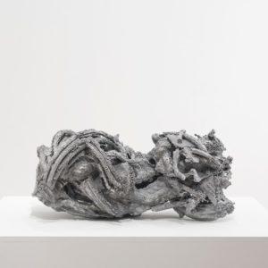 Loose bonds, 2016,Aluminium 28 x 64 x 38 cm
