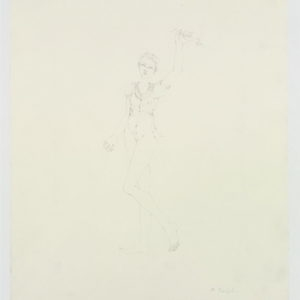 """Venus"", 2009, Pencil on paper 53 x 38 cm framed: 65.5 x 50.5 x 3.8 cm"