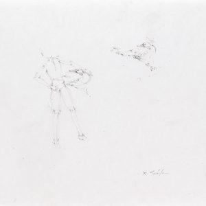 Untitled, 2007, Graphite on paper 29,7 x 35,6 cm