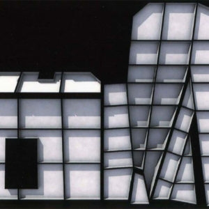 Snow Black, 2003, Single channel Projection, colour with sound  Video projection   Duration 6'15'' Loop