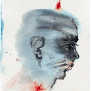 Bad Channel, 2014, Watercolour on paper Unique 40,5 x 32,5 cm