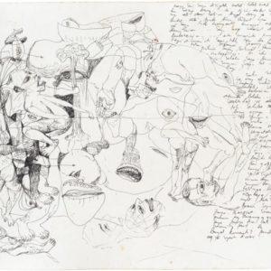 Indonesian Landscape Study #3, 2014, Pen on paper Unique 32 x 40,5 cm