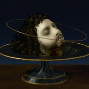 "Lady Gaga: The Head of Saint John the Baptist (Leo), 2013, High Definition Video, 20"" LCD Monitor/digital player/speaker Ed. of 2 AP 2"