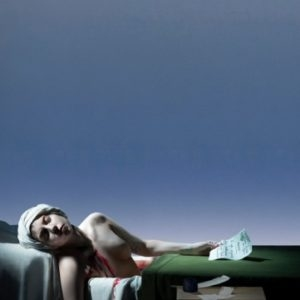"Lady Gaga: The Death of Marat, 2013, High Definition Video, 65""' Plasma Monitor/digital player/speaker Ed. of 3 AP 3"