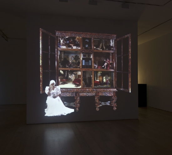 """""""The House of Petronella Oortman"""", 2012, Video projection Duration: 6' 8'' Loop"""
