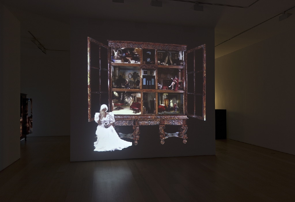 """The House of Petronella Oortman"", 2012, Video projection Duration: 6' 8'' Loop"