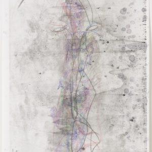 """""""Drifter"""", 2017, Monotype 81,2 x 59 cm"""
