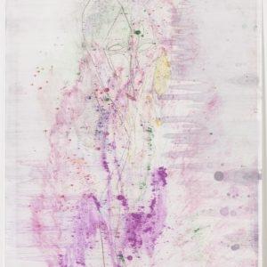 """""""Pearline"""", 2017, Monotype 81,2 x 59 cm"""