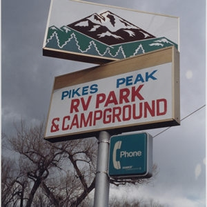 Pikes Peak Colorado, 1997, Chromogenic print Unique photo 50,5 x 40 cm (framed)
