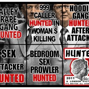 Hunted, 2011, 151 x 190 cm