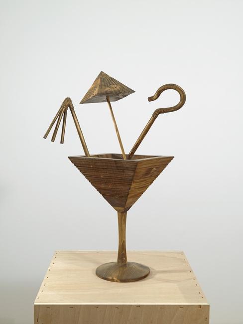 Pharaoh's Coctail, 2011, Wood, 75 x 45 x 37 cm
