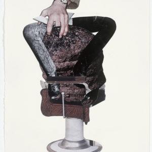Ariel (rock), 2012-2013, Collage on paper 36,5 x 28,5 cm (framed)