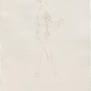 """""""Querelle"""", 2018, Watercolour on paper 101.5 x 67 cm"""