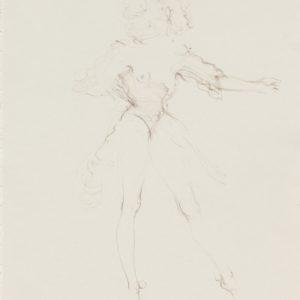 """Atis"", 2018, Watercolour on paper 42 x 29.5 cm"