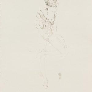 """Nexis"", 2018, Watercolour on paper 42 x 29.5 cm"