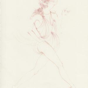 """Corail Rose"", 2018, Watercolour on paper 29.5 x 21 cm"