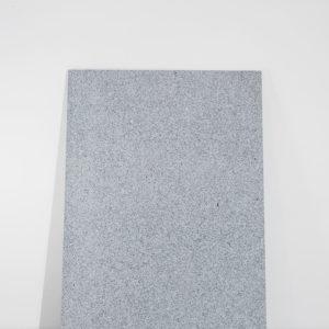 """Untitled, """"Colore e pietra peso vivo"""", 1987-2018, White Sardinian granite 200 x 145 x 3 cm"""