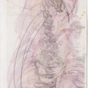 """Cameron JAMIE, """"Interval Blues"""", 2017, Monotype, 80,5 x 60,5 cm"""