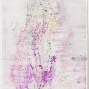 """Cameron JAMIE, """"Pearline"""", 2017, Monotype, 81,2 x 59 cm"""